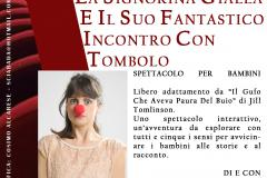 La Signorina Gialla e il suo fantastico incontro con Tombolo: a dicembre il Teatro del Crc Antella si rivolge ai bambini