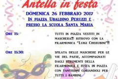 La locandina del Carnevale di Antella