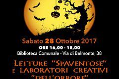 Aspettando Halloween in Biblioteca sabato 28 ottobre