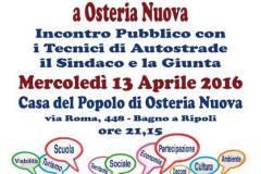 Dire – Fare – Condividere a Osteria Nuova: Speciale Autostrada.