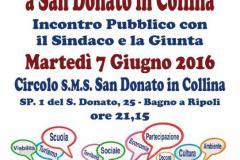 Dire – Fare – Condividere a San Donato in Collina