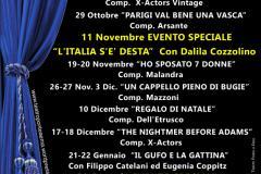 XXIII Stagione Teatrale 2016/17 - Acli Ponte a Ema, 22 ottobre 2016 – 25 marzo 2017
