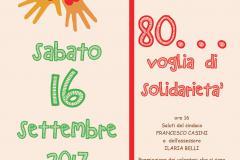 """""""80...voglia di Solidarietà"""""""
