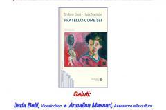 A tutto volume – Il 24 febbraio in biblioteca: Fratello come sei, romanzo di Emiliano Gucci e Hudie Maxituàn