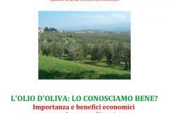 L'olio d'oliva in Biblioteca venerdì 17 febbraio