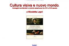 Cultura visiva e nuovo mondo, di Nicoletta Lepri