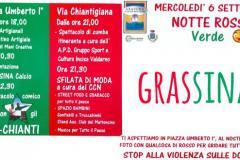 Notte Rossa Verde a Grassina mercoledì 6 settembre