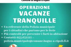 """Operazione """"Vacanze tranquille"""""""