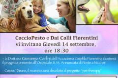 Un Apericena per la Pet Therapy dell'Ospedale Santa Maria Annunziata