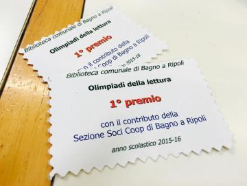 Olimpiadi della lettura bagno a ripoli - Bagno a ripoli comune ...