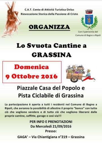Lo Svuota Cantine a Grassina - 9 ottobre 2016