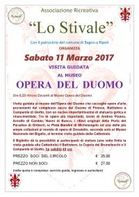 Visita guidata al Museo dell'Opera del Duomo sabato 11 marzo