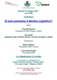 Si può prevenire il declino cognitivo?