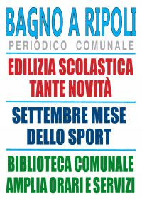 Il Notiziario di Bagno a Ripoli sul sito internet del Comune