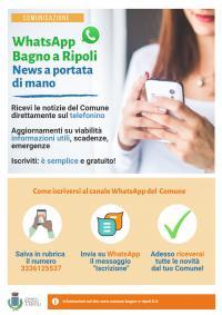 Locandina Whatsapp