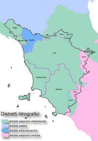 Mappa distretti idrografici
