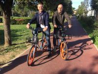 Bike sharing, da stamani a Bagno a Ripoli le prime 140 Mobike